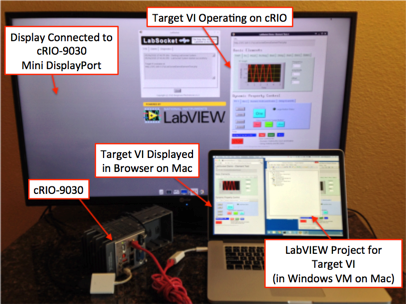 Access to Target VI on a cRIO-9030 Using LabSocket